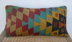 VINTAGE Home Decor24x12Handwoven Embroidered by pillowsstore, $51.00