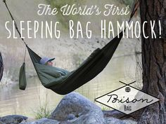 The World's First Sleeping Bag Hammock || Bison Bag by Lance & Julia (soon to be) Williams — Kickstarter