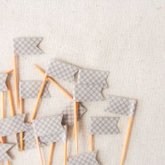 Washi Tape and toothpicks