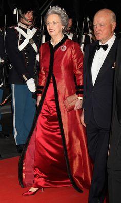 01-13-2012 Princess Benedicte & her husband, Prince Richard Sayn-Wittgenstein