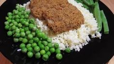 Ana's food - Quick and Easy Breaded Fish with Egg Fried Rice, all done in less than 30min