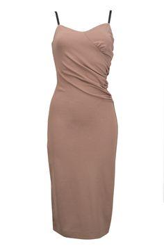 dress caramel