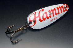 Hamm's Recyclure Beer Thirty series. $50.00, via Etsy.