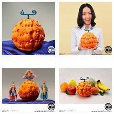 PVC 1/1 Scale Meramera Devil Fruit (Mera Mera No Mi) One Piece Bandai Japan