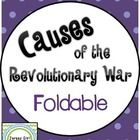 This foldable is a great way for students to take notes while learning about the causes of the Revolutionary War.    Causes Included: - French &amp...