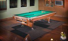 Brunswick Gold Crown V Pool Table