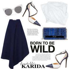 Born to be wild by helenevlacho on Polyvore featuring moda, E L L E R Y, Marni, Blanc & Eclare, Anja and fratelllicarida