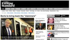 Boris to bring back slammer trains - great April Fools image from Snipe London
