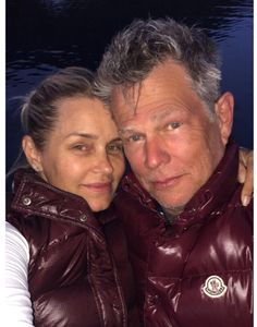 """Yolanda Foster takes a break from Lyme Disease treatments for Canadian vacation and """"holds onto"""" David Foster - Photos!"""