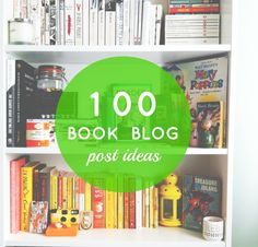 Vivatramp • UK Lifestyle & Book Blog: 100 Book Blog Post Ideas | My Life in Lists