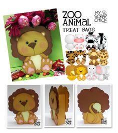 Zoo Animal Treat Boxes from myscrapchick.com