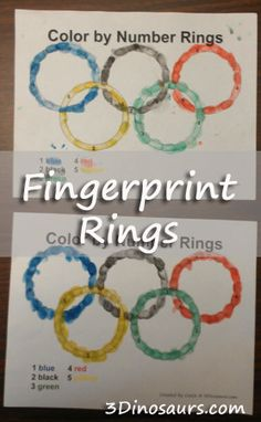 Making Fingerprint Rings for the Olympics - 3Dinosaurs.com