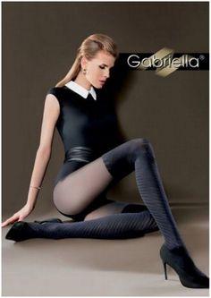 Fantaisie Collant- Bas semi opaque Luxe sexy Femme Tida Gabriella   Neuf