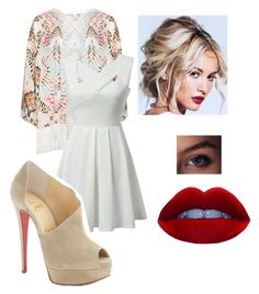 Untitled #124 by h-akther on Polyvore featuring Mat and Christian Louboutin