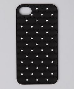 Take a look at this iCover Black Sparkle Stud Case for iPhone 4/4S by Tech Trends: Electronic Accessories on #zulily today!