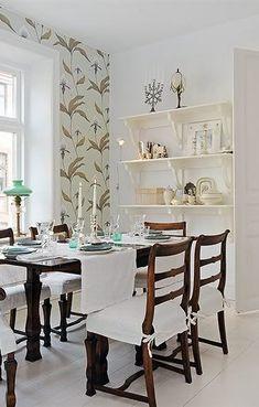 Afbeeldingsresultaat voor eetkamer stoelhoezen | Home decor ...