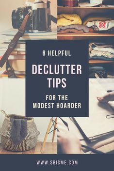 If you are a disorganized pack rat who dreads the thought of spring cleaning, here are some helpful tips to make decluttering much more manageable, and maybe even a little fun. Clutter Organization, Kids Room Organization, Organisation Ideas, Household Organization, Organizing Ideas, Declutter Your Home, Organize Your Life, Clutter Control, Clutter Free Home