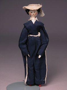 grodnertal doll 1840 - Google Search