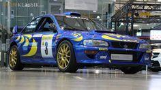Colin McRae's 1997 Subaru WRC Imprezza For Sale #subaru #wrx #sti #impreza #forester #subie