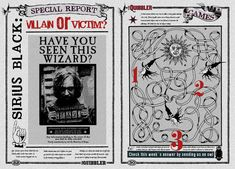 Quibbler Page Sirius Black Villain or Victim by jhadha.deviantart.com on @deviantART