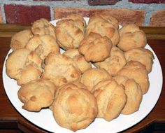 Le palais gourmand: Galettes à la cassonade Biscuits, Breakfast Muffins, Brownie Cookies, Beignets, Scones, Mousse, Cookie Recipes, Food And Drink, Favorite Recipes