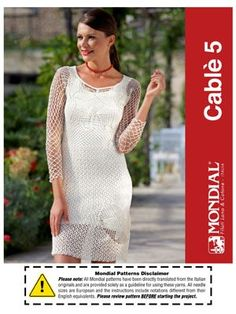 Free Cable 5 Dress Pattern | Knitting Fever