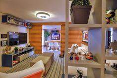 Projeto de arquitetura de interiores assinado por Lineastudio.
