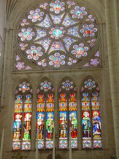 Rosace - St Maixant