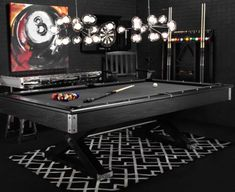 I want it!! Jaxxon Pool Table from Z Gallerie