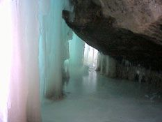Grand Island Ice Caves, Lake Superior, Upper Peninsula of Michigan