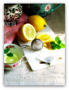Fresh Herb Teas can relax and soothe after the busiest of days.  Keep them simple, homemade and healthy with homegrown recipes from Canned-Time.com  #MintTea #HomemadeTea #HealthyHerbTeas