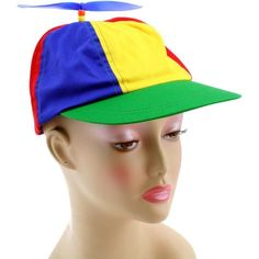2471ae77a40f68 Adjustable Propeller Beanie Ball Cap Hat Multi-Color Clown Costume  Accessory 6957443157621 | eBay
