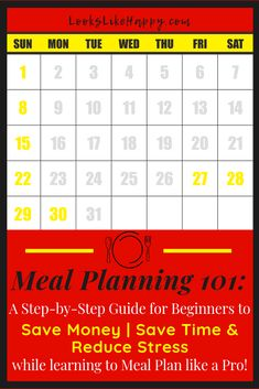 Meal Planning 101: S