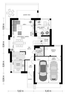Floor Plans, Villa, Home Plans, Home, Floor Layout, Homes, House, Fork, Villas
