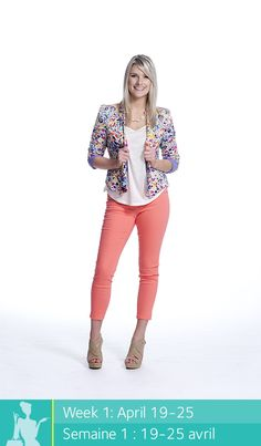 Pants, t-shirt, blazer and sandals. Seemann Place d'Orleans Martin Hudson's Bay Get this look at The Bay Everyday Look, Everyday Fashion, Fashion Beauty, Womens Fashion, Fashion Tips, Fashion Trends, New Outfits, Cute Outfits, Pin Up Girls