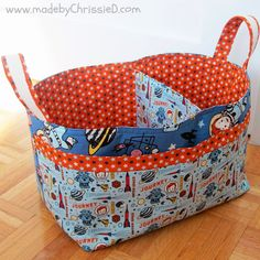 made by ChrissieD: Adventures, Explorations and Nursery Baskets