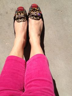 Cutest shoes ever.  Plaid.  Cheetah.  Gold hardware.  Sparkly stones.  Red.  Black.