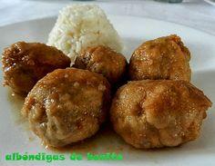 las recetas de mi abuela: ALBÓNDIGAS DE BONITO FRESCO