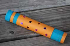 Galactic Starveyors Telescope Tutorial - step by step tutorial with pictures to give you something fun for your VBS classroom and give to your participants. Space Crafts For Kids, Space Preschool, Craft Activities For Kids, Craft Ideas, Vbs Crafts, Classroom Crafts, Camping Crafts, Moon Crafts, Telescope Craft