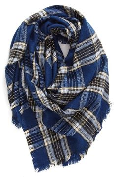 BP. Plaid Square Scarf available at #Nordstrom nordstromrack.com $18.90