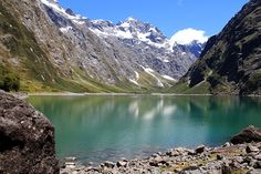 Neuseeland – Vielfalt der Südinsel, Kalenderblatt Mai: Lake Marian