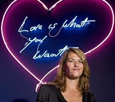 TRACY EMIN Hayward Gallery, London Icons, Tracey Emin, Graphic Projects, Doodle Art, Saatchi, Doodles, Jokes, Neon Signs