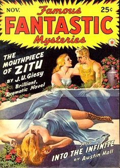 Famous Fantastic Mysteries, Vol 5 No 1  (Nov 1942)