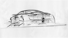Alpine Vision Concept Design Sketch