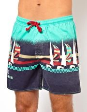 The Critical Slide Society Vacation Swimshort 16
