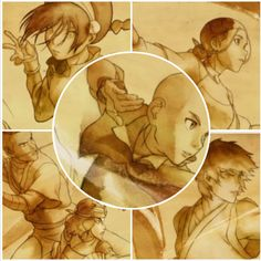Water, Earth, Fire, Air! Fan and Sword! Avatar: the last airbender