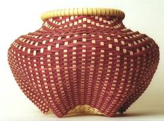 Judith Olney  Baskets - this basket is 5 feet tall, more than 5 ft in diameter AND it's red - via juditholney.com