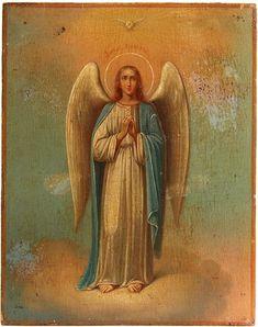 Egg Shell Art, Garden Angels, Orthodox Icons, Angel Art, Gabriel, Oriental, Painting, Inspiration, Jesus Christ