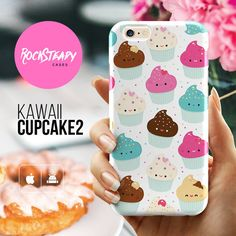 Kawaii Cupcake iPhone 6s case cute cup cake by RockSteadyCases